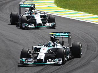Победителем Гран-при Бразилии стал Нико Росберг