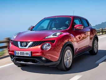 Nissan назвал рублевые цены на обновленный Juke