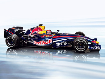 Болид Red Bull из частной коллекции выставили на продажу