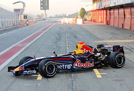 Машина RB3 участвовала в сезоне Формулы-1 2007 года