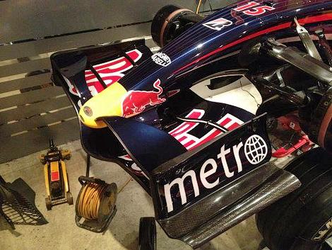 Машина RB3 участвовала в сезоне Формулы-1 2007 года. Фото 1