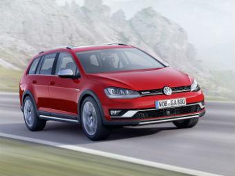 Volkswagen превратит следующий Golf в кроссовер