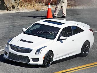 Cadillac дал послушать двигатель «заряженного» купе ATS