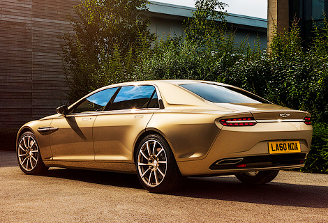 Компания выбрала название для первой модели возрожденной марки Lagonda