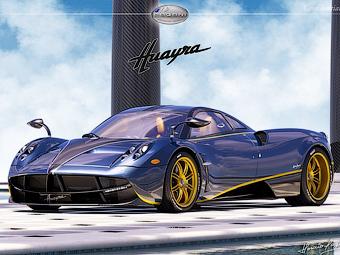 Pagani создаст единственный форсированный экземпляр Huayra
