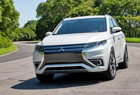 Серийный вариант прототипа Mitsubishi начнут собирать на заводе в Калуге. Фото 1