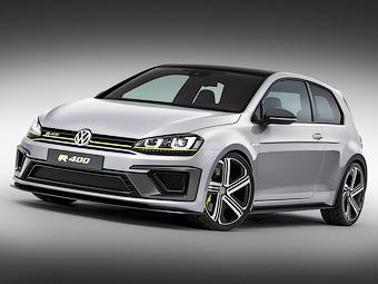 Volkswagen запустит в серию 400-сильный Golf