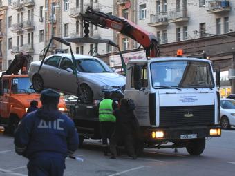 Москвичи смогут оплатить эвакуацию машины через интернет