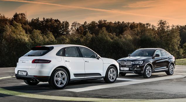 Бензиновый суперкроссовер Porsche против супердизеля BMW