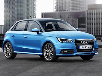 Хэтчбек A1 стал первой моделью Audi с трехцилиндровыми моторами