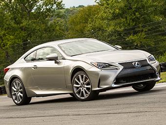 Lexus назвал рублевые цены на купе RC