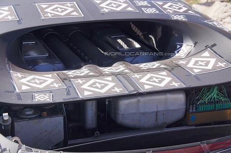 Появились снимки тестового прототипа замены гиперкару Veyron
