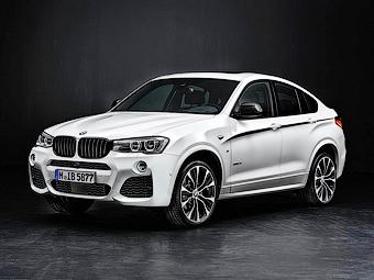 В BMW подготовили для X4 линейку спортивных аксессуаров