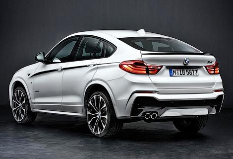 На автошоу в Эссене немцы покажут X4 M Performance
