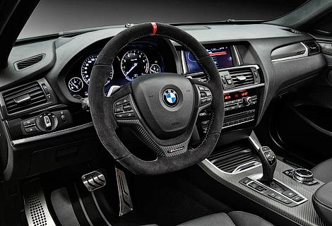 На автошоу в Эссене немцы покажут X4 M Performance. Фото 2