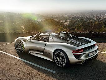 Porsche продаст весь тираж супергибрида 918 Spyder к декабрю