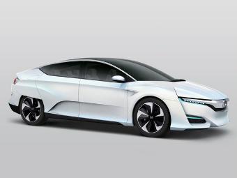 """""""Хонда"""" улучшила прототип новой водородной модели"""