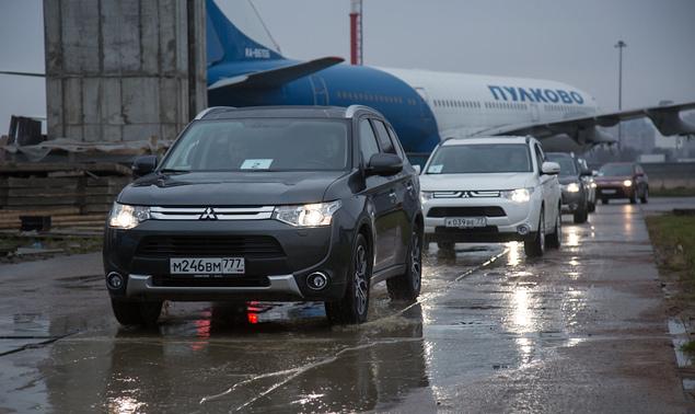 "Тест Mitsubishi Outlander Sport с ""умной"" системой полного привода. Фото 2"