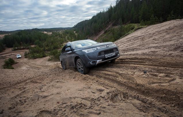 "Тест Mitsubishi Outlander Sport с ""умной"" системой полного привода. Фото 8"