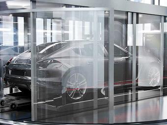 Появилось изображение маленького хэтчбека Porsche