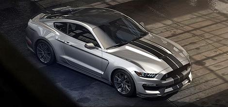 Американцы представили 500-сильный Ford Shelby GT350 Mustang