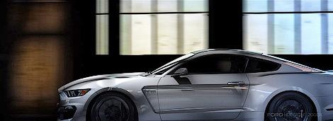 Американцы представили 500-сильный Ford Shelby GT350 Mustang. Фото 1