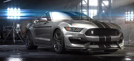 Американцы представили 500-сильный Ford Shelby GT350 Mustang. Фото 3