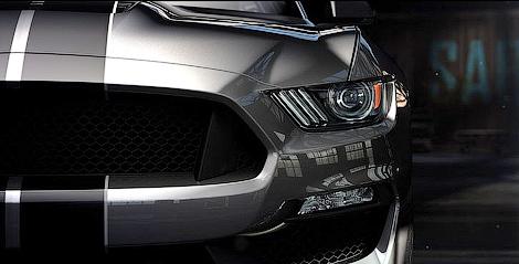 Американцы представили 500-сильный Ford Shelby GT350 Mustang. Фото 4