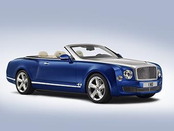Компания Bentley показала концептуального преемника кабриолета Azure
