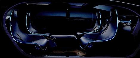 Немецкая марка сделает машину с расположенными против движения креслами. Фото 2