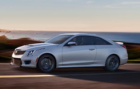 В Лос-Анджелесе представили «заряженные» купе и седан Cadillac ATS-V