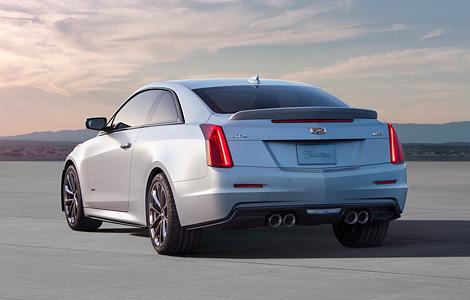 В Лос-Анджелесе представили «заряженные» купе и седан Cadillac ATS-V. Фото 1