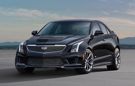 В Лос-Анджелесе представили «заряженные» купе и седан Cadillac ATS-V. Фото 2