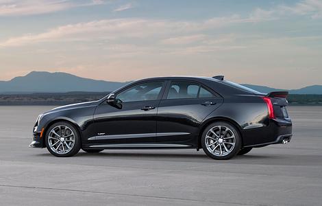 В Лос-Анджелесе представили «заряженные» купе и седан Cadillac ATS-V. Фото 3