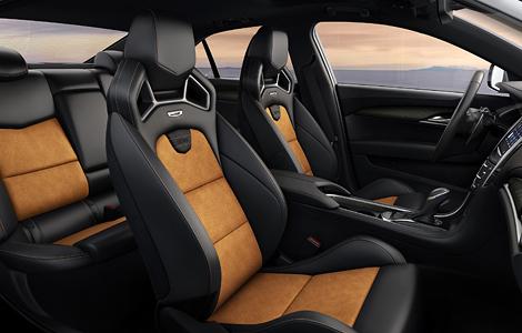 В Лос-Анджелесе представили «заряженные» купе и седан Cadillac ATS-V. Фото 4