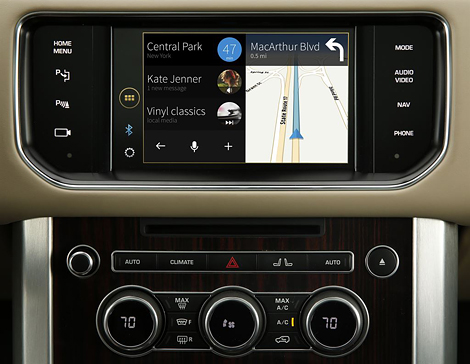 Альянс Jaguar Land Rover разработал систему голосового управления justDrive