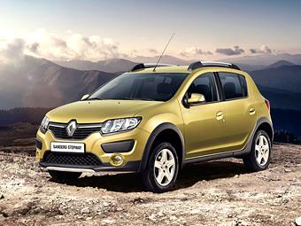 """Компания Renault назвала рублевые цены """"высокого"""" Sandero"""