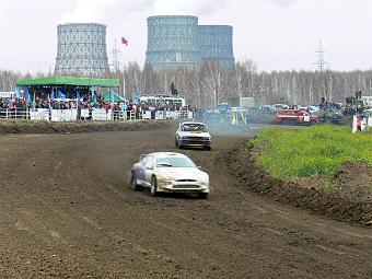 В Новосибирске начали строить гоночную трассу