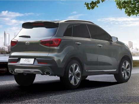 На автосалоне в Гуанчжоу дебютирует прототип Kia Kx3
