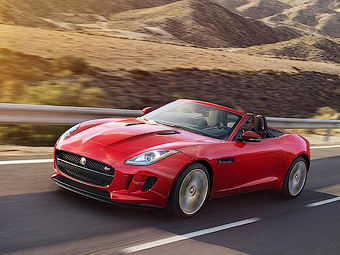 Jaguar F-Type получил механическую коробку передач