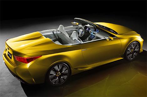 Дебют Lexus LF-C2 состоялся на автосалоне в Лос-Анджелесе