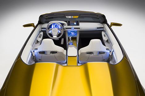 Дебют Lexus LF-C2 состоялся на автосалоне в Лос-Анджелесе. Фото 3