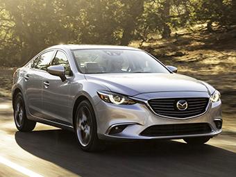 Mazda6 третьего поколения впервые обновилась