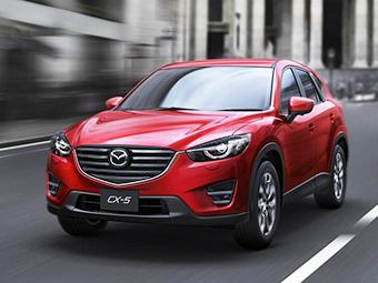 Кроссоверу Mazda CX-5 освежили внешность и салон