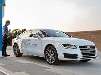 Полноприводный хэтчбек Audi A7 перевели на водород
