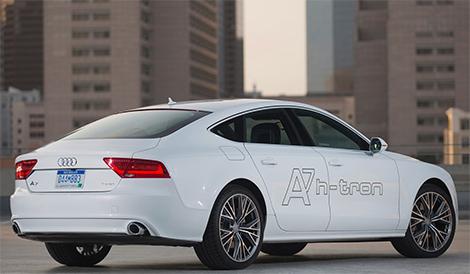 Компания Audi представила в Лос-Анджелесе A7 с двумя электромоторами