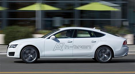 Компания Audi представила в Лос-Анджелесе A7 с двумя электромоторами. Фото 3