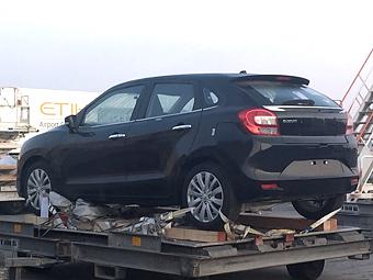 Шпионы раскрыли внешность новой модели Suzuki