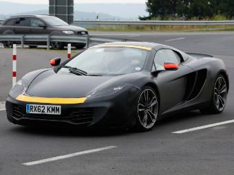 """Опубликован новый снимок """"доступного"""" суперкара McLaren"""