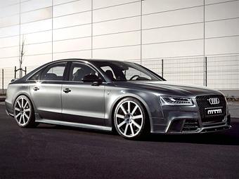 Ателье MTM построило 760-сильный седан Audi S8